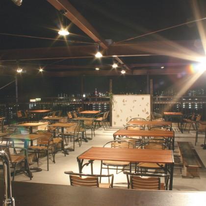 サンバリ-屋上ビア
