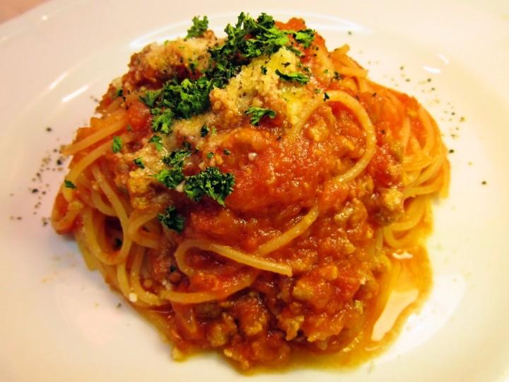 イタリア産パンチェッタのスパゲッティ アマトリチャーナ
