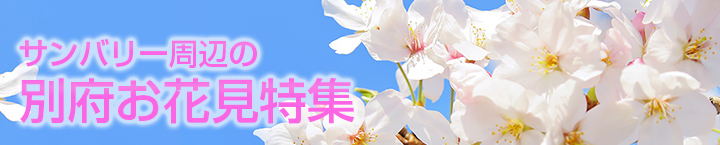 別府のお花見特集