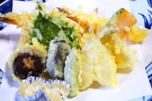 季節の天ぷら盛合わせ
