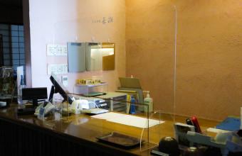 ■店舗レジカウンター